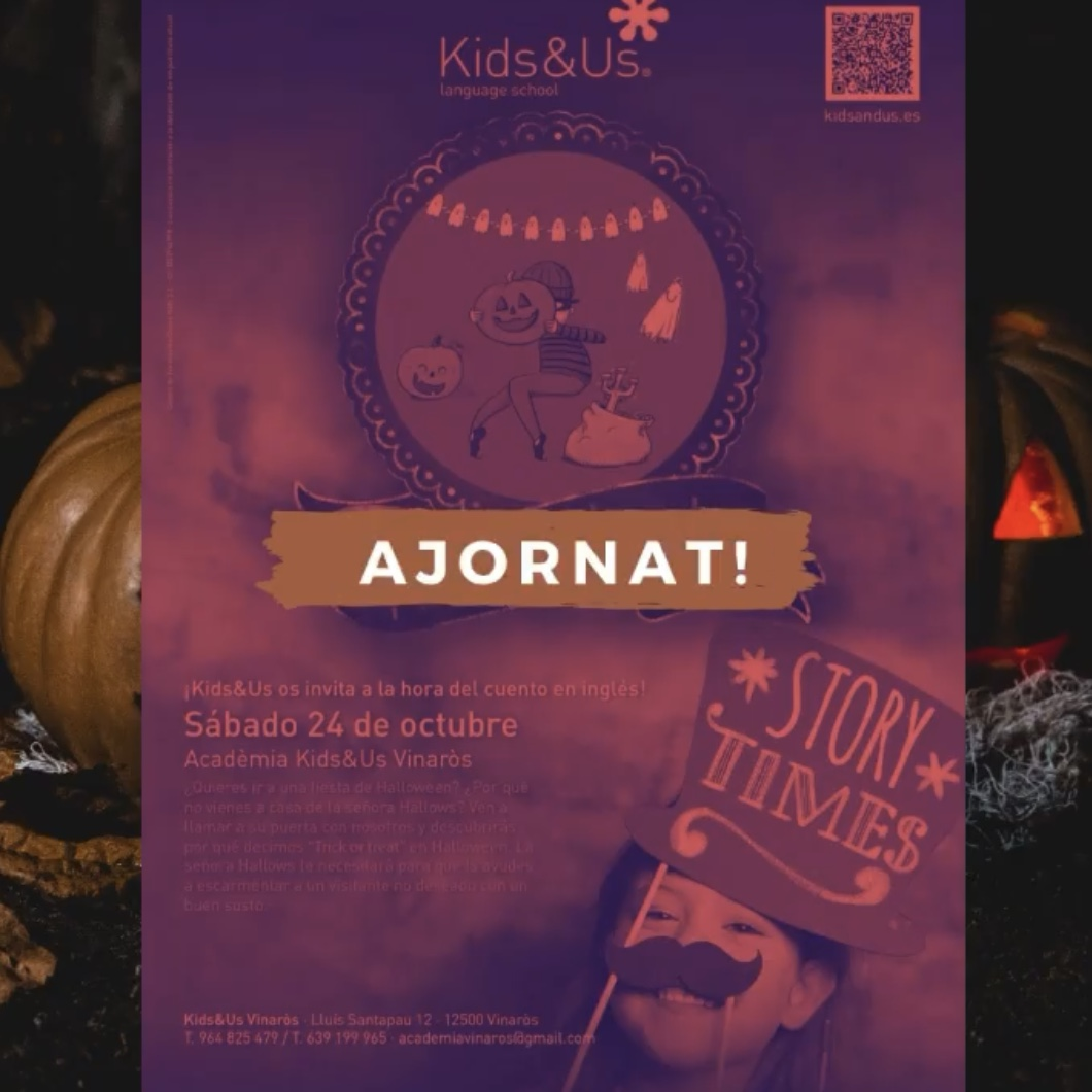"Storytime virtual ""Trick or Treat"" AJORNAT"
