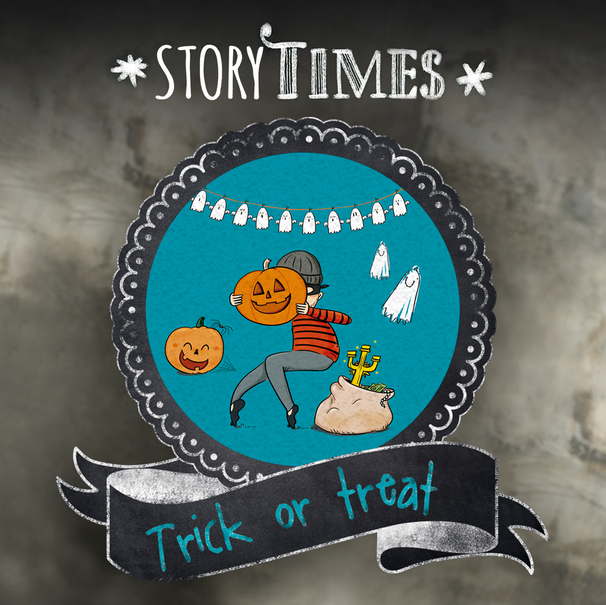 "Storytime virtual ""Trick or Treat"""